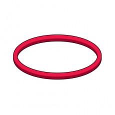 고무줄 빨강색 (10개)