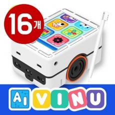 언플러그드 코딩 AI VINU 비누(패드+카) 16개
